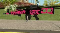 Gunrunning Combat MG MK.II GTA 5 Pink Skull pour GTA San Andreas