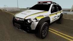Fiat Palio Weekend Brazilian Police (Patamo) pour GTA San Andreas