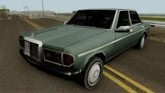 Admiral (Mercedes-Benz 280E Style) Low Poly