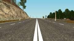 HD Pack Дорог GTA Pénale de la Russie pour GTA San Andreas