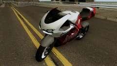 Bati Custom from GTA 4 EFLC pour GTA San Andreas