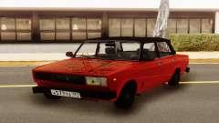 Rouge VAZ 2107 Hobo pour GTA San Andreas
