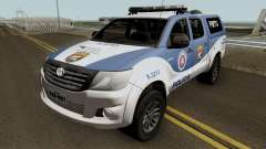 Toyota Hilux 2015 PETO CIPM POJUCA für GTA San Andreas