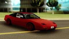 Nissan 240SX Red für GTA San Andreas