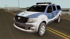 Toyota Hilux SRV 2016 DEAM COORPIN für GTA San Andreas