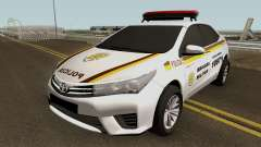 Toyota Corolla Brazilian Police (Patamo) pour GTA San Andreas