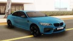 BMW M2 Blue für GTA San Andreas