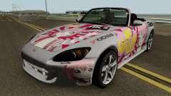 Honda S2000 Akari Yuru Yuri für GTA San Andreas