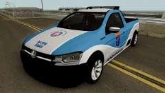 Volkswagen Saveiro G7 ROBUST PMBA Ronda Escolar pour GTA San Andreas