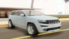 Jeep Grand Cherokee SRT 2014 White pour GTA San Andreas