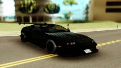 Toyota Supra Black Edition für GTA San Andreas