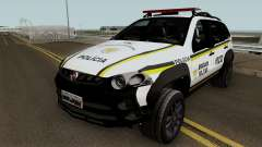 Fiat Palio Weekend Brazilian Police pour GTA San Andreas