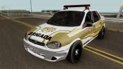 Chevrolet Corsa Brazilian Police für GTA San Andreas