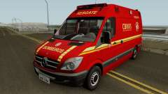 Mercedes-Benz Sprinter Ambulance (CBMRS) für GTA San Andreas