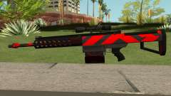 New Sniper Rifle (Red) pour GTA San Andreas