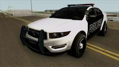 Ford Taurus Police (Interceptor style) 2012 pour GTA San Andreas