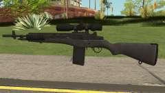 COD-MWR M14 Sniper für GTA San Andreas