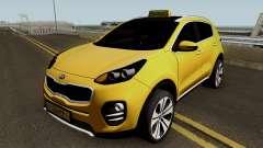 Kia Sportage 2017 Taxi Maku pour GTA San Andreas