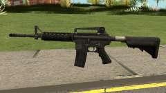 M4A1 WARFACE pour GTA San Andreas