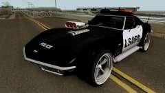 Chevrolet Corvette C3 Stingray Police LSPD V2 pour GTA San Andreas
