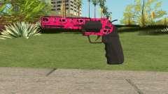 GTA Online Heavy Revolver Mk.2 Pink Skull für GTA San Andreas