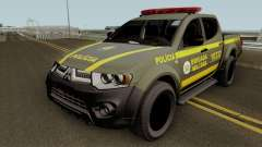 Mitsubishi L200 Brazilian Police (CHOQUE) für GTA San Andreas