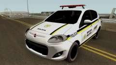 Fiat Palio Brazilian Police pour GTA San Andreas