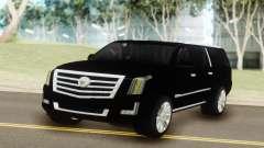 Cadillac Escalade Black pour GTA San Andreas
