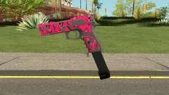 GTA Online Gunrunning Pistol MK.II Pink Skull