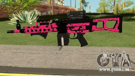 Gunrunning Combat MG MK.II GTA 5 Pink Skull für GTA San Andreas
