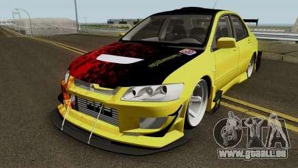 Mitsubishi Lancer Driftz EVO pour GTA San Andreas
