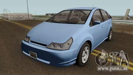 Toyota Prius Civil Y Taxi Hibrido De CDMX V1 pour GTA San Andreas