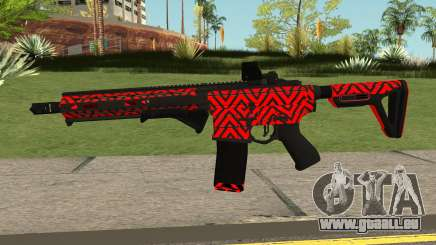 New Assault Rifle (Red) für GTA San Andreas