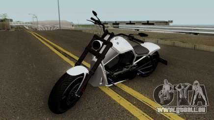Western Motorcycle Nightblade GTA V HQ für GTA San Andreas