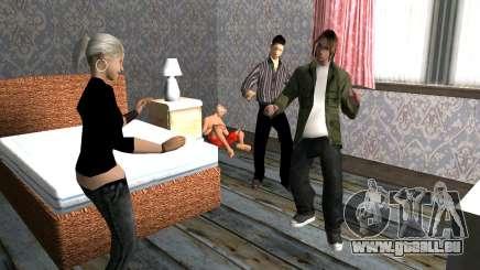 Party zu Hause für GTA San Andreas
