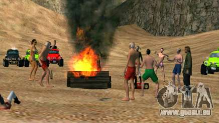 Beach-party für GTA San Andreas