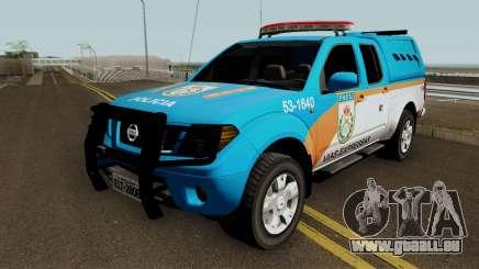 Nissan Frontier PMERJ BPVE 2013 für GTA San Andreas