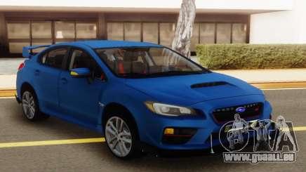 Subaru Impreza WRX STI Sedan Blue pour GTA San Andreas