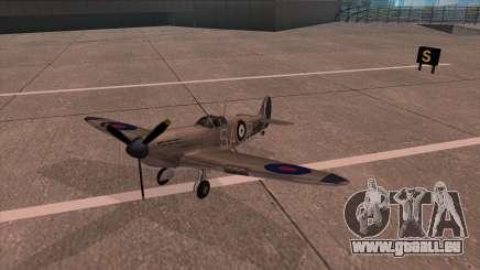 Rustler - Spitfire MK1 pour GTA San Andreas