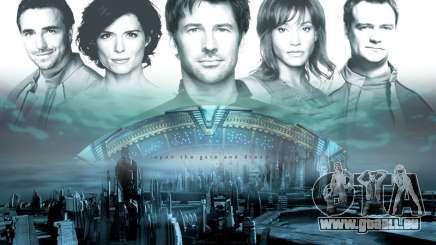 Boot-Bildschirm Stargate: Atlantis für GTA San Andreas