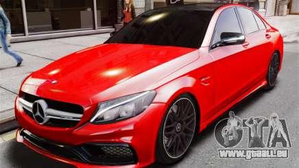 Mercedes-Benz C63s AMG für GTA 4