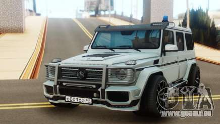 Mercedes-Benz G65 AMG Tuning pour GTA San Andreas