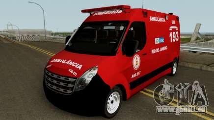 Renault Master of CBMERJ pour GTA San Andreas