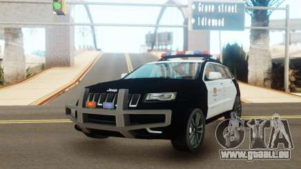 Jeep Grand Cherokee Police Edition für GTA San Andreas