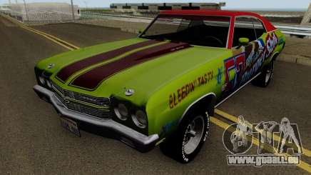 Chevrolet Chevelle SS Burgershot 1970 für GTA San Andreas