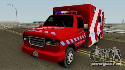 Ambulance: Mission Row San Andreas pour GTA San Andreas