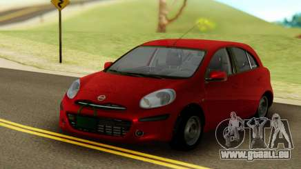 Nissan Micra ELLE pour GTA San Andreas