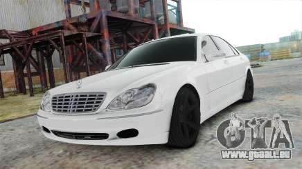 Mercedes-Benz S600 White pour GTA 4