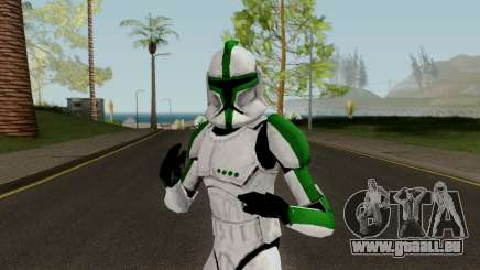 Clone Trooper Green (Star Wars The Clone Wars) pour GTA San Andreas
