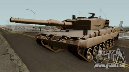 Leopard 2A4 (Ejercito de Chile) für GTA San Andreas